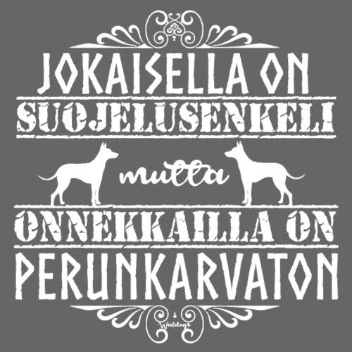 Perunkarvaton Enkeli - Miesten premium t-paita