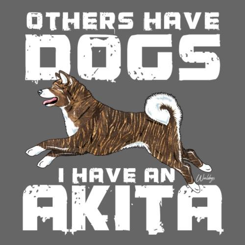 Akita Dogs - Miesten premium t-paita
