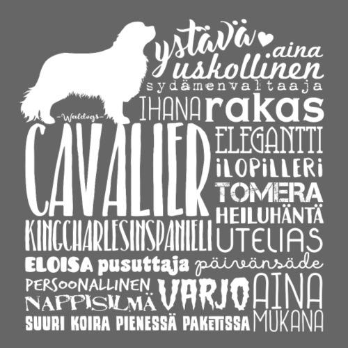 Cavalier Sanat V - Miesten premium t-paita
