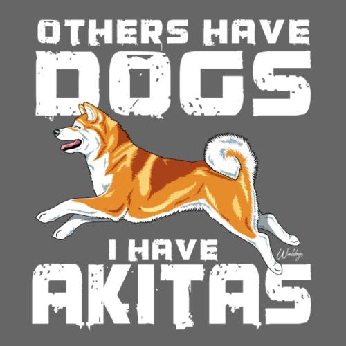 Akita Dogs V - Miesten premium t-paita