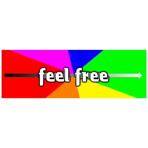 Feel free enjoy - Männer Premium T-Shirt