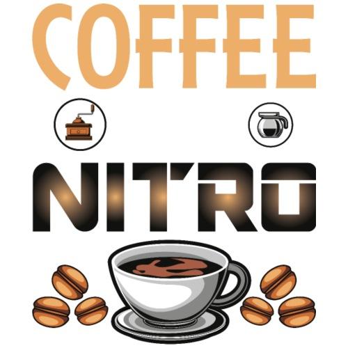 Coffee is my nitro Ohne Kaffee kein Leben Geschenk - Männer Premium T-Shirt
