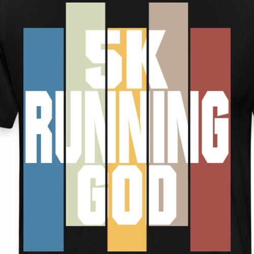 5K running god 5km sind kein Hindernis für dich - Männer Premium T-Shirt
