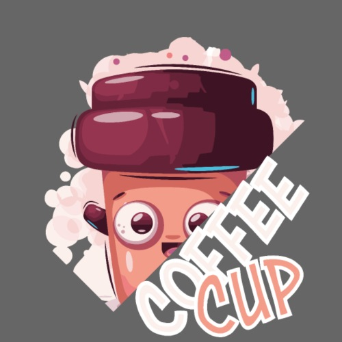 froehlicher Kaffeebecher Kaffee Kaffeebohne - Männer Premium T-Shirt