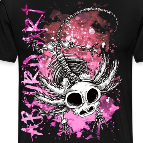 Knochentierchen Axolotl von Absurd ART - Männer Premium T-Shirt