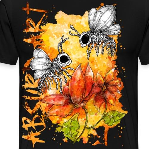 Knochentierchen Bienen - Männer Premium T-Shirt