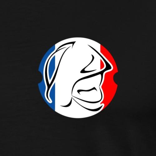 pompier logo - T-shirt Premium Homme