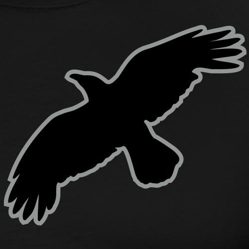 raben krähen mystisch vogel fliegen raven mystical - Männer Premium T-Shirt