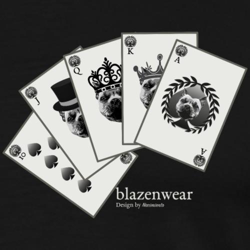 Blazenwear Royal Flush - Männer Premium T-Shirt
