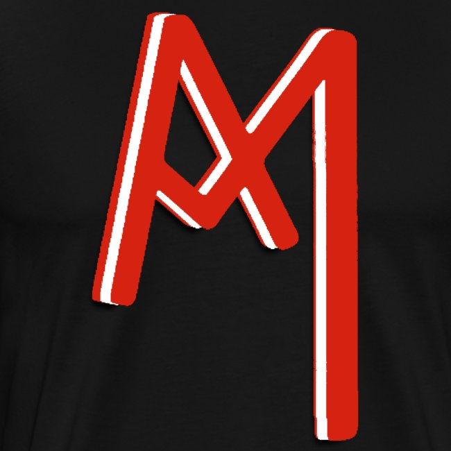 Monogram 3D RED png