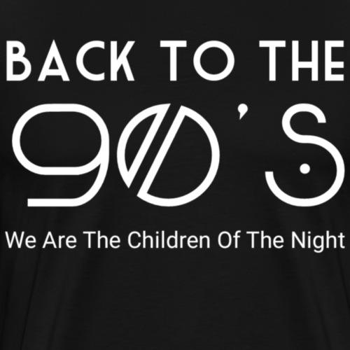 90s - Mannen Premium T-shirt
