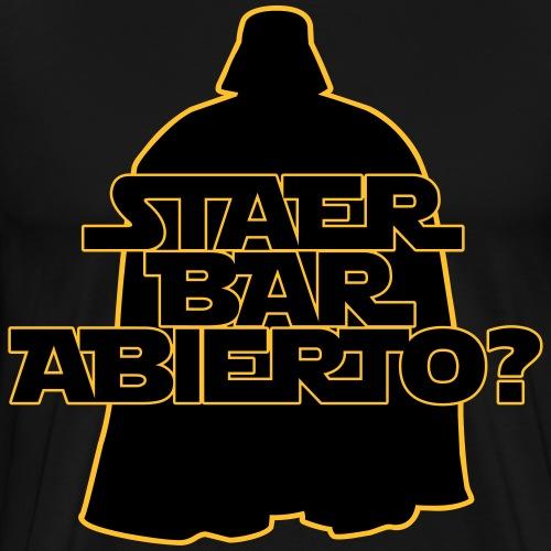 Staer Bar Abierto - Camiseta premium hombre