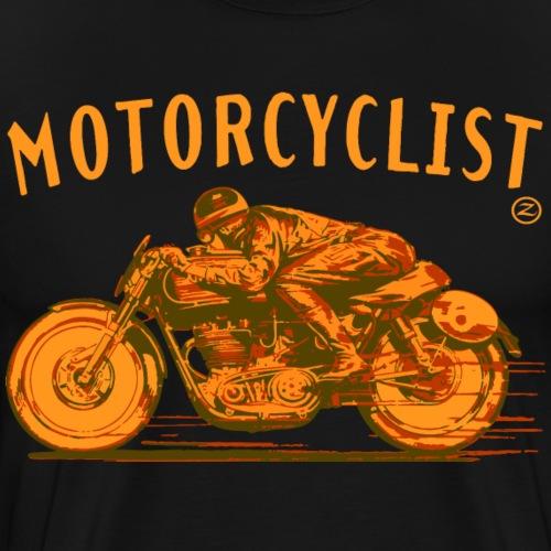 motorcyclist shirt - Men's Premium T-Shirt
