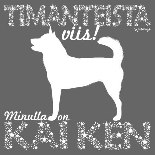 Kai Ken Timantti - Miesten premium t-paita