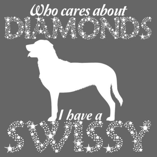 Swissy Diamonds - Miesten premium t-paita