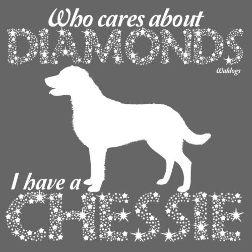 Chessie Diamonds - Miesten premium t-paita