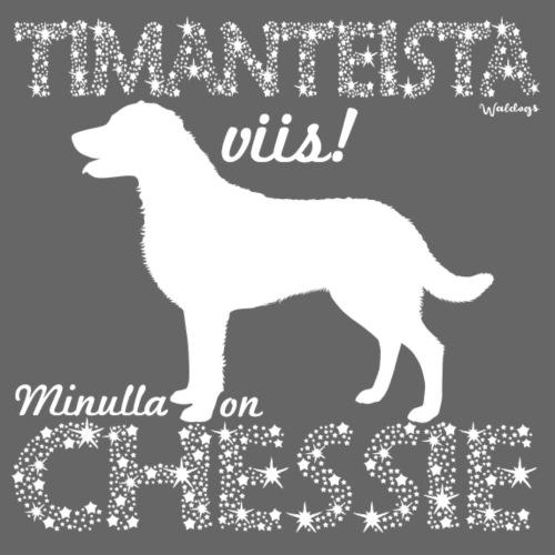 Chessie Timantti - Miesten premium t-paita