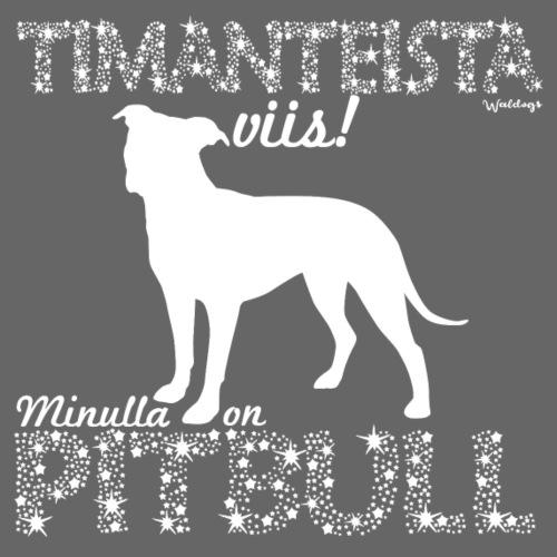 Pitbull Timantti - Miesten premium t-paita