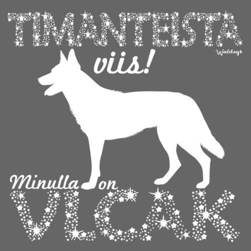 Vlcak Timantti - Miesten premium t-paita