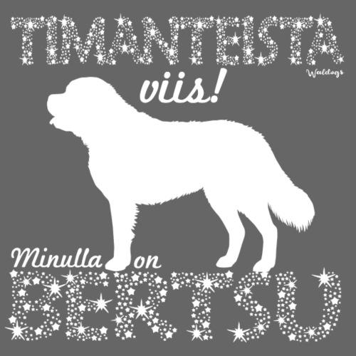 Bernhardinkoira Timantti I - Miesten premium t-paita