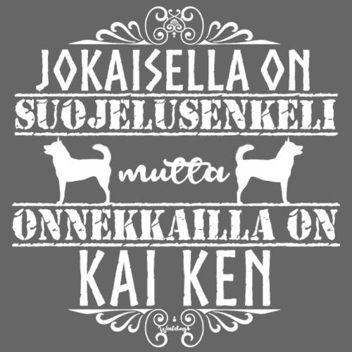 Kai Ken Enkeli - Miesten premium t-paita