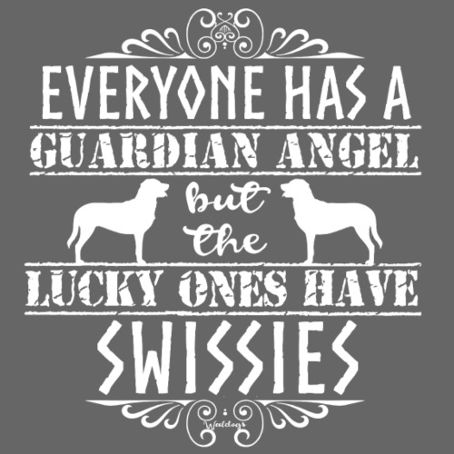 Swissy Angels - Miesten premium t-paita