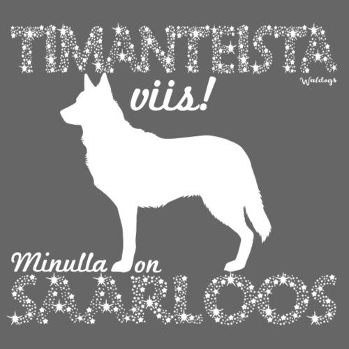 Saarloos Timantti - Miesten premium t-paita