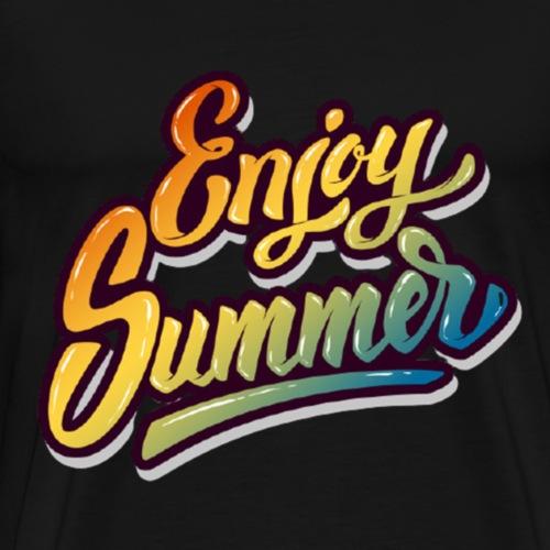 Enjoy Summer - Männer Premium T-Shirt