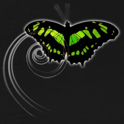 Schmetterling grün