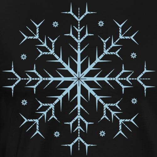Flocon bleu - T-shirt Premium Homme