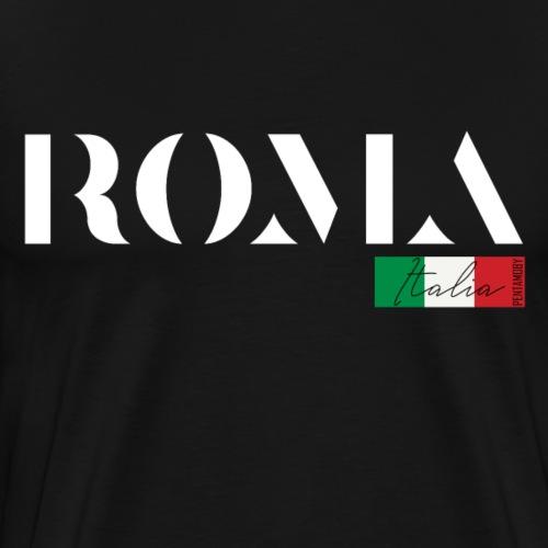 ROM ROMA ITALIA ITALIEN URLAUB INSEL (w) - Männer Premium T-Shirt