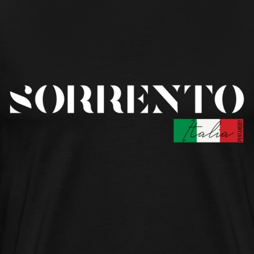 SORRENT SORRENTO ITALIA ITALIEN URLAUB INSEL (w) - Männer Premium T-Shirt