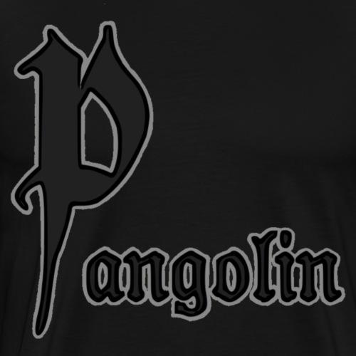 Pangolin Titre - T-shirt Premium Homme