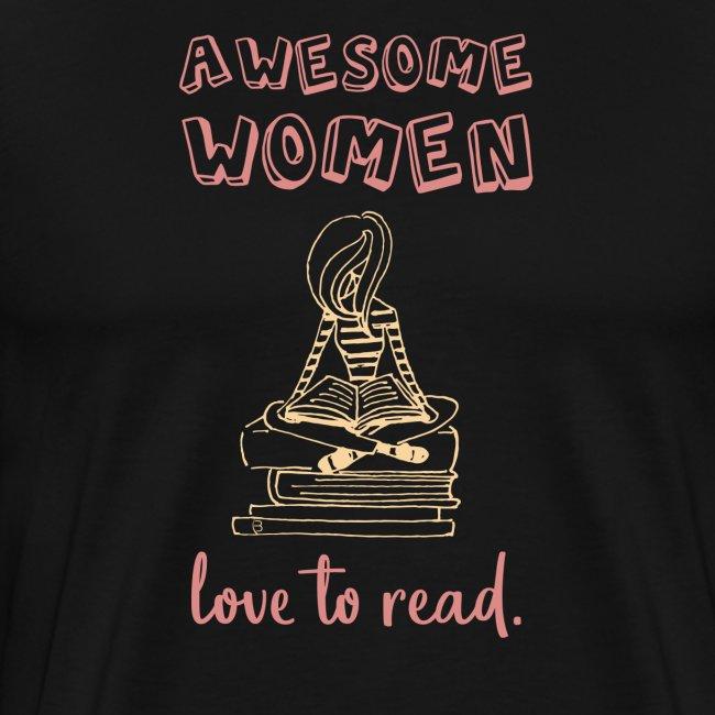 0176 Wunderbare Frauen lieben es zu Lesen! Bücher