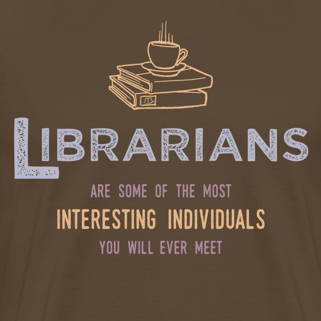 0336 Librarian & Librarian Funny saying