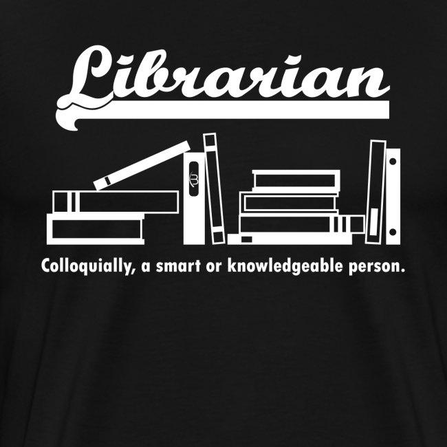 0334 Librarian Librarian Library Book