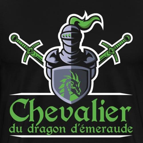 Chevalier du dragon d émeraude - T-shirt Premium Homme