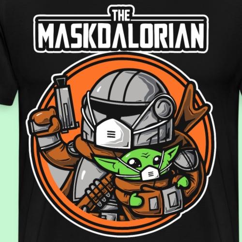 The maskdalorian - Camiseta premium hombre
