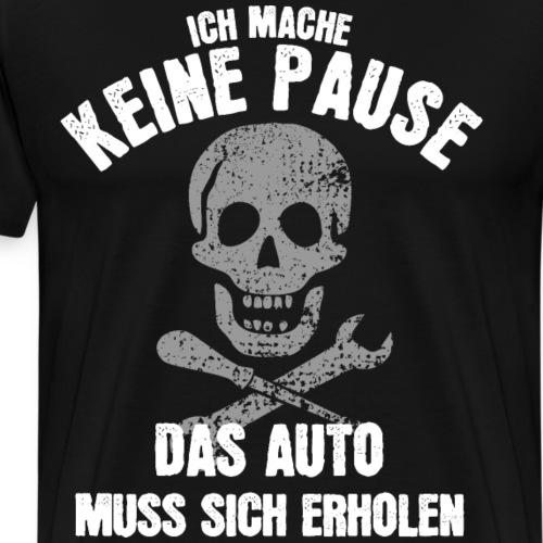 Lustiger Spruch Mechaniker Schrauber Auto Shirt - Männer Premium T-Shirt
