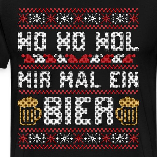 Ho Ho Hol mir mal ein Bier | lustiger Gerstensaft