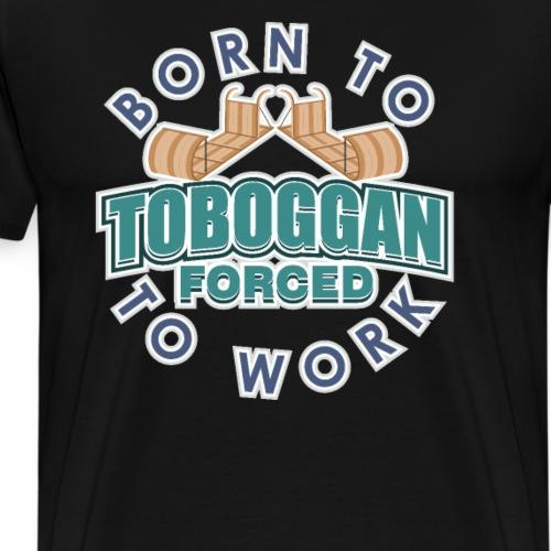 Toboggan Winter Fun Sports - Men's Premium T-Shirt