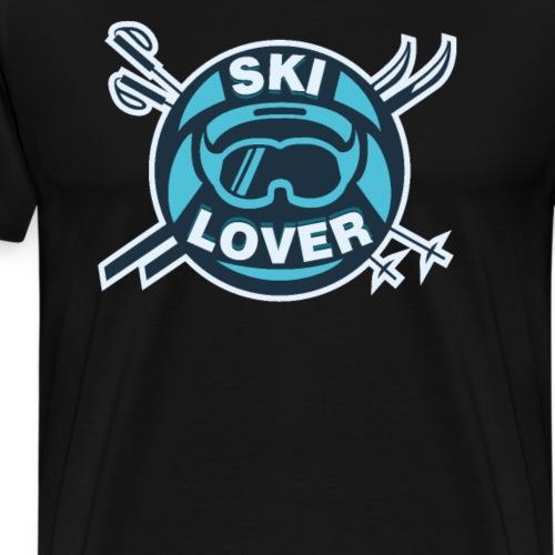 Winter Sports Ski Lover - Men's Premium T-Shirt