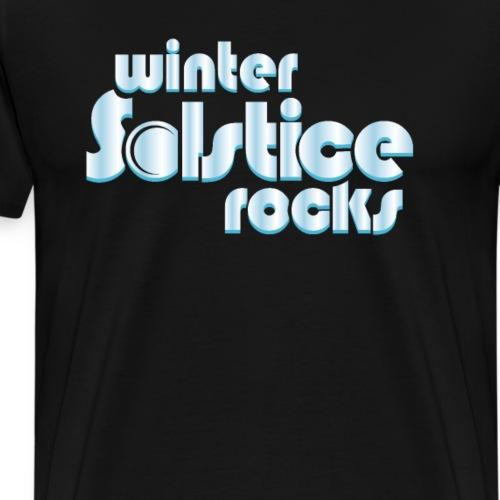 Winter Solstice Rocks - Men's Premium T-Shirt