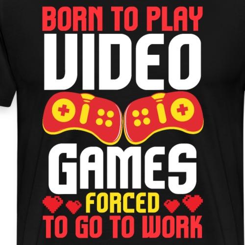 Video Gaming Gamer - Männer Premium T-Shirt