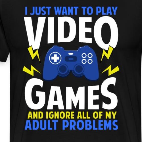 Video Games - Männer Premium T-Shirt