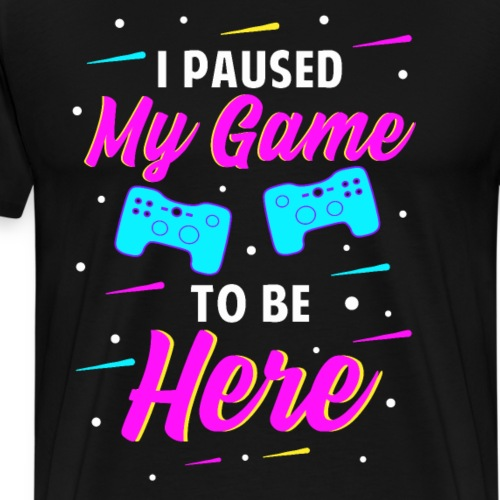 Nerd Games - Männer Premium T-Shirt