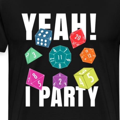 Nerd Party - Männer Premium T-Shirt