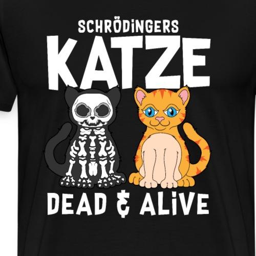 Schrödingers cat - Männer Premium T-Shirt