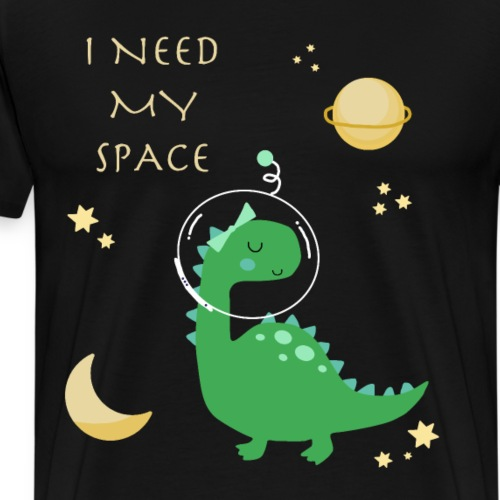 Dino space - Männer Premium T-Shirt