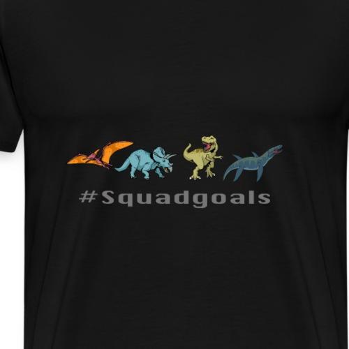 Dinos - Männer Premium T-Shirt